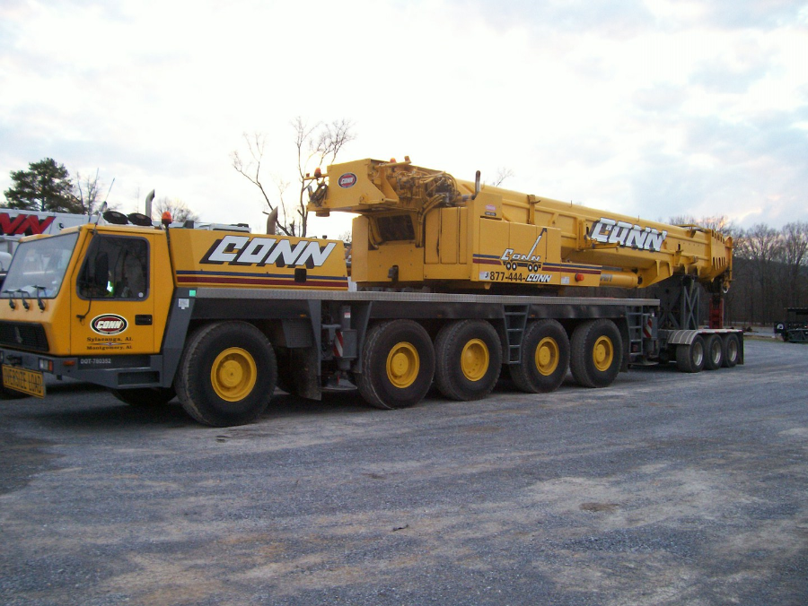 Crane Rentals, Equipment & Concrete Mixing in Alabama from Conn